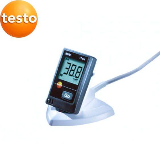 Máy ghi độ ẩm testo 174H đo được nhiệt độ bên ngoài