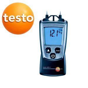 Máy ghi độ ẩm testo 606-1 đo các vật liệu gỗ, xây dựng
