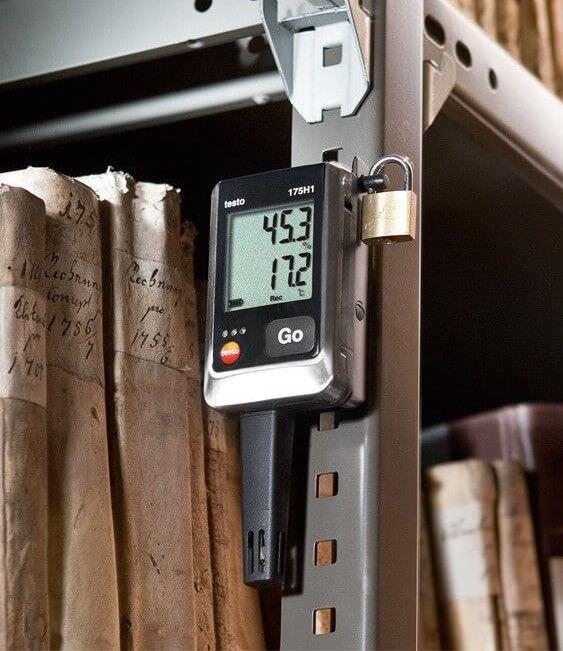 Máy ghi đo Testo 175H1 được nhiều cơ sở tin dùng