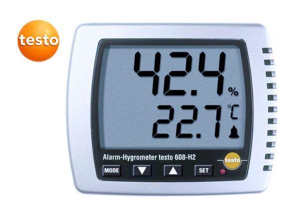 Thiết bị ghi độ ẩm 608-h2 luôn cho kết quả hiển thị chính xác