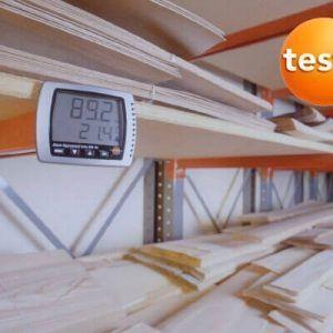 Thiết bị ghi độ ẩm 608-H2 phát tín hiểu vượt ngưỡng độ ẩm