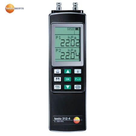 Máy đo áp suất Testo 312-4