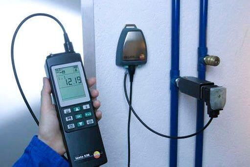 Chi tiết cách đo áp suất Testo 526-1 đơn giản