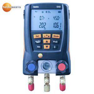 Máy đo áp suất Testo 549 - Dùng trong công nghệ điện lạnh