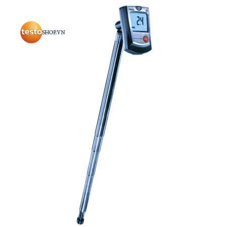 Máy đo Testo 405 - Ứng dụng đo vận tốc gió