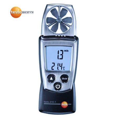Thông tin chi tiết về máy đo Testo 410-1