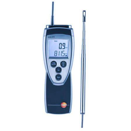 Máy đo Testo 425 dùng đo vận tốc gió và ghi lại nhiệt độ