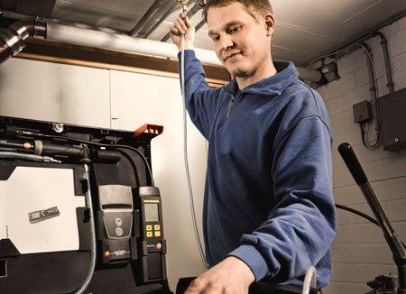 Thiết bị đo áp suất Testo 324 dùng đo áp suất trong các đường ống khí