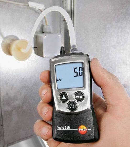 Ứng dụng thiết bị đo áp suất Testo 510 trong việc bảo dưỡng hệ thống điều hòa không khí