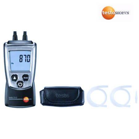 Thiết bị đo áp suất Testo 510 được nhiều cơ quan tin sử dụng