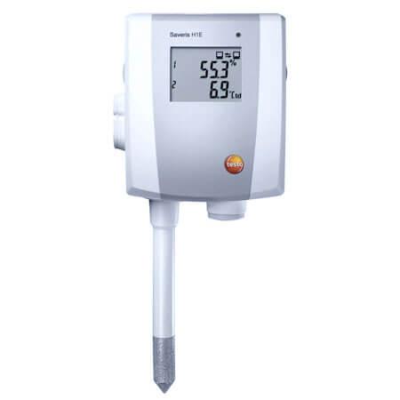 Đầu dò Testo Saverí H1-E có thể đo được nhiệt độ và độ ẩm