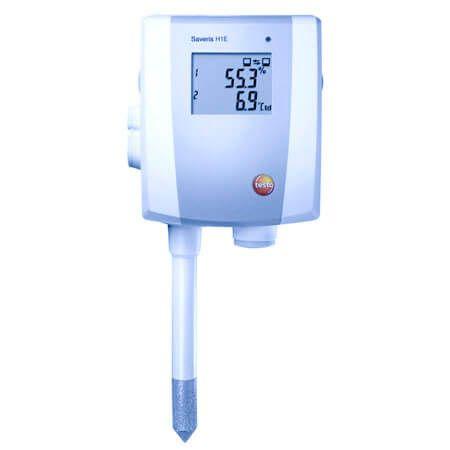 Sử dụng đầu dò Testo Saverí H2-E như một bộ ghi nhiệt độ và độ ẩm