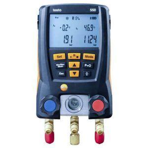 Máy đo áp suất Testo 550 dùng nhiều phương pháp đo lường khác nhau