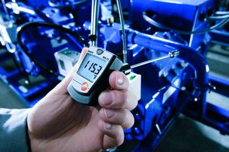 Máy đo Testo 905-T2 có thể dễ dàng đo ghi nhiệt độ mọi bề mặt khác nhau
