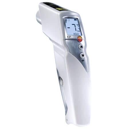 Máy ghi nhiệt độ Testo 831 ứng dụng trong việc đo ghi nhiệt độ bề mặt