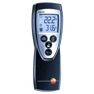 Máy ghi nhiệt độ Testo 922 được ứng dụng nhiều hiện nay