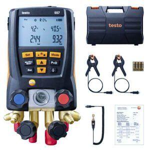 Máy đo Testo 557 đo áp suất và nhiệt độ nhanh chóng