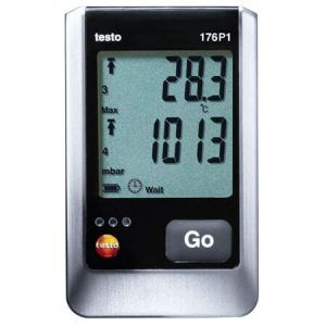 Máy đo testo 176 p1 dùng ghi đo áp suất, nhiệt độ và độ ẩm